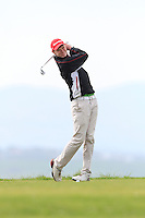 David Brady (Co. Sligo) during round 2 of The West of Ireland Amateur Open in Co. Sligo Golf Club on Saturday 19th April 2014.<br /> Picture:  Thos Caffrey / www.golffile.ie