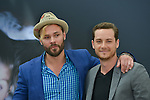 """Flueger Patrick and Soffer Jesse Lee from """"Chicago PD"""" poses at the photocall during the 55th Festival TV in Monte-Carlo on June 15, 2015 in Monte-Carlo, Monaco."""