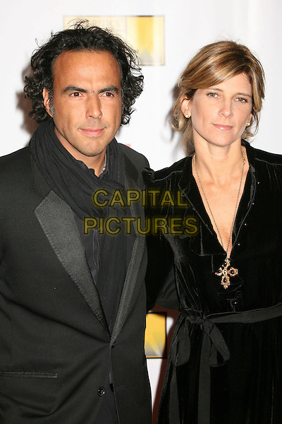 ALEJANDRO GONZALEZ INARRITU & GUEST.At The 12th Annual Broadcast Film Critics Choice Awards held at The Santa Monica Civic Auditorium in Santa Monica, California, LA, USA, January 12th 2007. .half length .CAP/ADM/BP.©Byron Purvis/AdMedia/Capital Pictures.