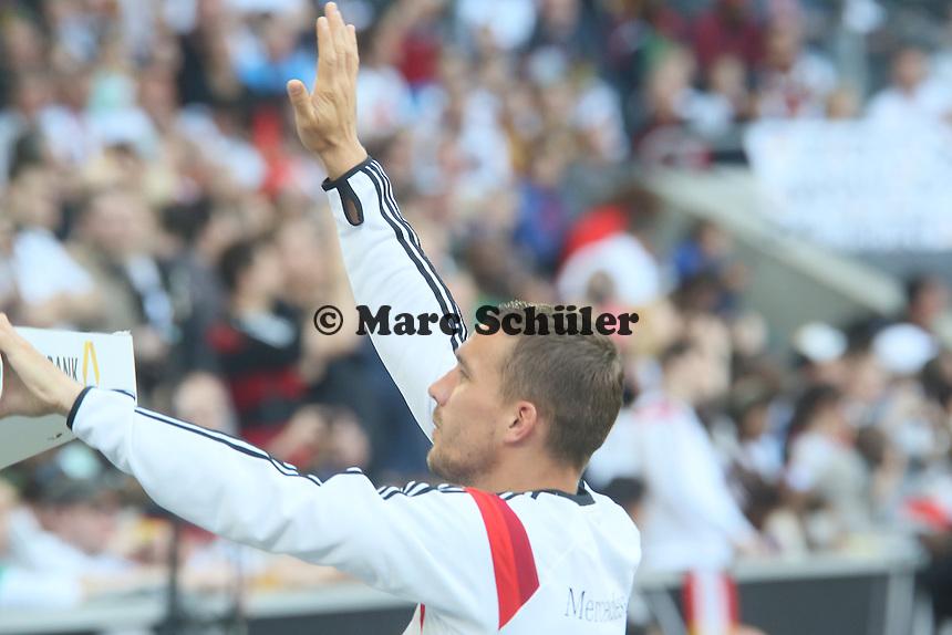 Lukas Podolski - Deutschland vs. Kamerun, Mönchengladbach