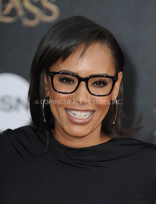WWW.ACEPIXS.COM<br /> <br /> May 23 2016, LA<br /> <br /> Melanie Brown arriving at the premiere of Disney's 'Alice Through The Looking Glass' at the El Capitan Theatre on May 23, 2016 in Hollywood, California.<br /> <br /> <br /> By Line: Peter West/ACE Pictures<br /> <br /> <br /> ACE Pictures, Inc.<br /> tel: 646 769 0430<br /> Email: info@acepixs.com<br /> www.acepixs.com