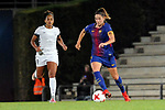 Spanish Women's Football League Iberdrola 2017/18 - Game: 9.<br /> FC Barcelona vs Madrid CFF: 7-0.<br /> Jade vs Vicky Losada.