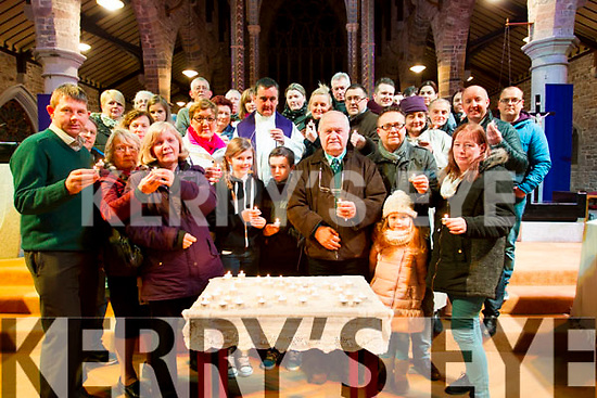 Saint Vincent De Paul 'Christmas Candle Spectacular' which took place at Saint Johns Church on Tuesday night to remember a loved one who is no longer with us this Christmas.