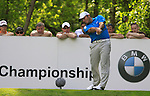 Francesco Molinari tees off on the 12th tee during Round 2 of the BMW PGA Championship at  Wentworth, Surrey, England...Photo Golffile/Eoin Clarke.(Photo credit should read Eoin Clarke www.golffile.ie)....This Picture has been sent you under the condtions enclosed by:.Newsfile Ltd..The Studio,.Millmount Abbey,.Drogheda,.Co Meath..Ireland..Tel: +353(0)41-9871240.Fax: +353(0)41-9871260.GSM: +353(0)86-2500958.email: pictures@newsfile.ie.www.newsfile.ie.