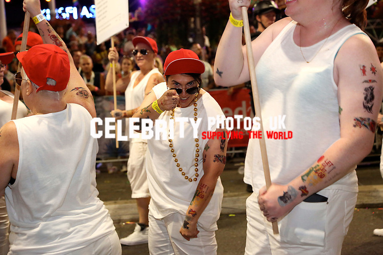 the 38th annual Sydney Gay and Lesbian Mardi Gras Parade 5th of march 2016 Sydney New South Wales Australia