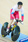 Aleksandr Dubchenko of Russia competes in the Men's Kilometre TT - Qualifying during the 2017 UCI Track Cycling World Championships on 16 April 2017, in Hong Kong Velodrome, Hong Kong, China. Photo by Chris Wong / Power Sport Images