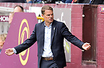 Crystal Palace manager Frank de Boer protests during the premier league match at the Turf Moor Stadium, Burnley. Picture date 10th September 2017. Picture credit should read: Paul Burrows/Sportimage