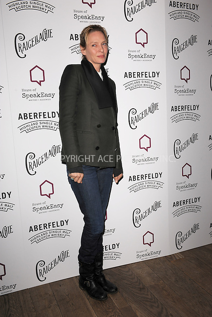 WWW.ACEPIXS.COM<br /> January 28, 2015 New York City<br /> <br /> Uma Thurman attending the 2015 House Of SpeakEasy Gala at City Winery on January 28, 2015 in New York City.<br /> <br /> Please byline: Kristin Callahan/AcePictures<br /> <br /> ACEPIXS.COM<br /> <br /> Tel: (646) 769 0430<br /> e-mail: info@acepixs.com<br /> web: http://www.acepixs.com