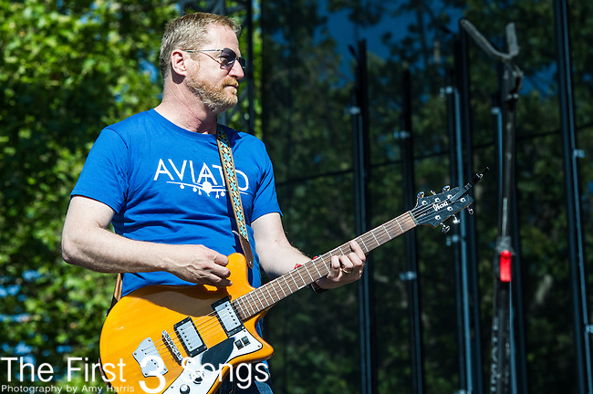 David Lowery of Camper Van Beethoven performs at the 2nd Annual BottleRock Napa Festival at Napa Valley Expo in Napa, California.