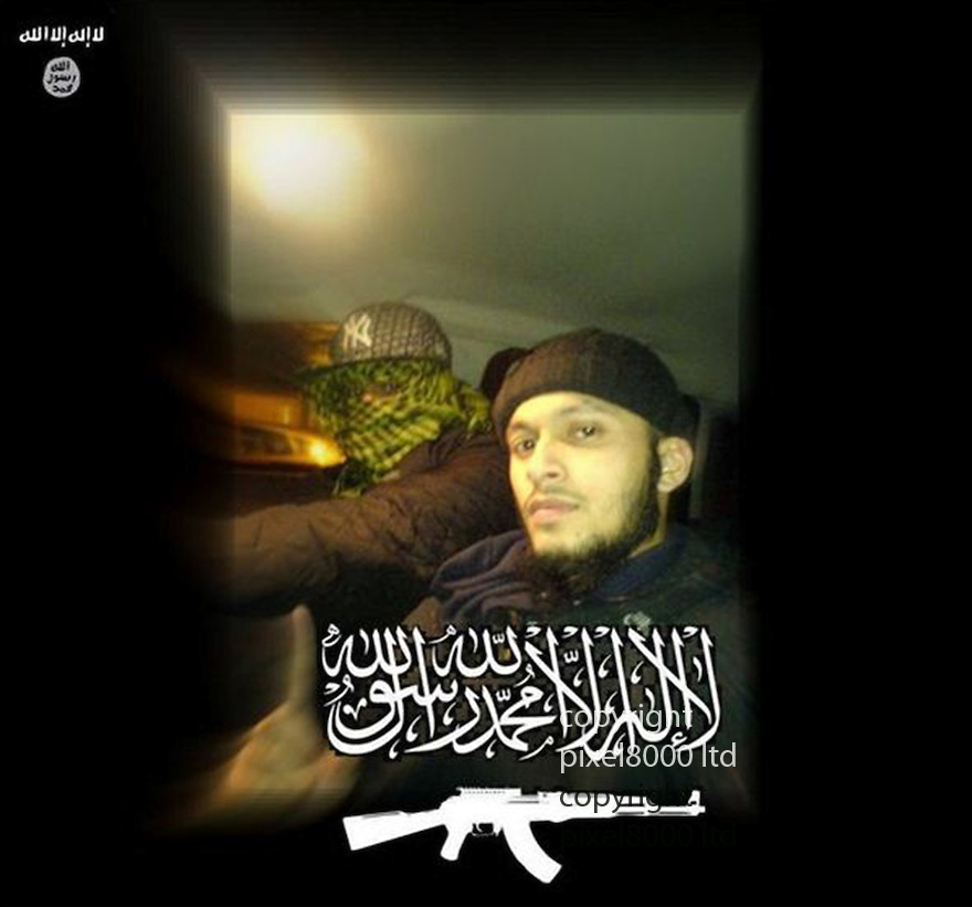 Mohammed Nahin Ahmed and Yusuf Zubair Sarwar admit terror offences<br /> <br /> Pic shows: Nahin Ahmed pre travel - taken from his computer<br /> <br /> Picture by  Pixel8000 07917221968