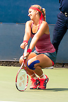 NEW YORK, NY - August 26, 2013: Sabine Lisicki (GER) during her first round single's match at the 2013 US Open in New York, NY on Monday, August 26, 2013.