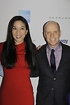 Michelle Kwan & Scott Hamilton at Skating with the Stars - a benefit gala for Figure Skating in Harlem in its 17th year is celebrated with many US, World and Olympic Skaters honoring Michelle Kwan and Jeff Treedy on April 7, 2014 at Trump Rink, Central Park, New York City, New York. (Photo by Sue Coflin/Max Photos)