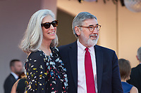 Ricky Tognazzi, John, Landis at the Downsizing premiere and Opening Ceremony, 74th Venice Film Festival in Italy on 30 August 2017.<br /> <br /> Photo: Kristina Afanasyeva/Featureflash/SilverHub<br /> 0208 004 5359<br /> sales@silverhubmedia.com