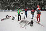 Nordic Arena one day before the FIS Cross Country Ski World Cup  in Dobbiaco, Toblach, on January 13, 2017. Credit: Pierre Teyssot