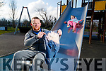 Timmy Collins, Manor, Tralee, pictured with his daughter Chelsea, in Tralee town park on Wednesday morning last.