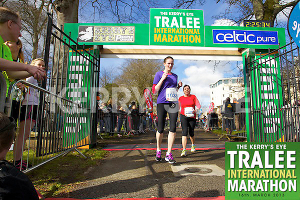 1033 Aine Browne1309 Mary Kavanagh who took part in the Kerry's Eye, Tralee International Marathon on Saturday March 16th 2013.