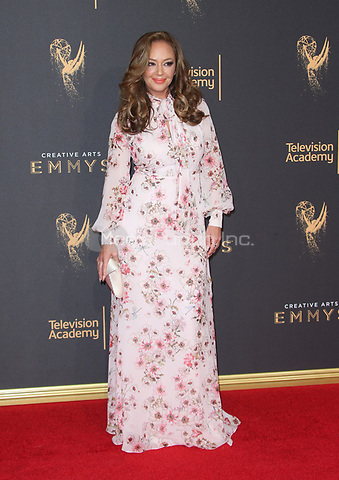 LOS ANGELES, CA - SEPTEMBER 09: Leah Remini at the 2017 Creative Arts Emmy Awards at Microsoft Theater on September 9, 2017 in Los Angeles, California. Credit: Faye Sadou/MediaPunch