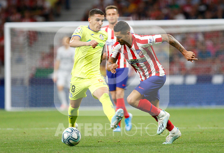 Atletico de Madrid's Vitolo Machin during La Liga match. Aug 18, 2019. (ALTERPHOTOS/Manu R.B.)Atletico de Madrid's Vitolo Machin  during the Spanish La Liga match between Atletico de Madrid and Getafe CF at Wanda Metropolitano Stadium in Madrid, Spain