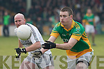 Castlegregory's Stephen Browne and Longwood's Michael Weir.