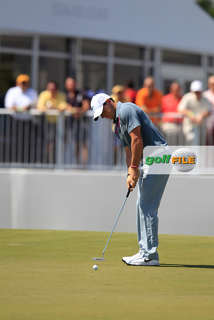 Rory McIlroy (NIR) during the 2nd round at the WGC Cadillac Championship, Blue Monster, Trump National Doral, Doral, Florida, USA<br /> Picture: Fran Caffrey / Golffile