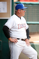 May 28, 2009:  Manager Ken Oberkfell of the Buffalo Bisons looks on during a game at Coca-Cola Field in Buffalo, NY.  The Bisons are the International League Triple-A affiliate of the New York Mets.  Photo by:  Mike Janes/Four Seam Images