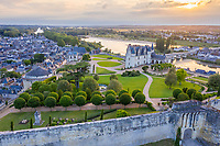France, Indre-et-Loire (37), Amboise, château d'Amboise,