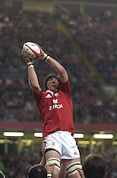 2005 British & Irish Lions vs Argentina, at The Millennium Stadium, Cardiff, WALES played on  23.05.2005, Ben Kay, jumping in the line out..Photo  Peter Spurrier. .email images@intersport-images...