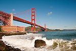 Fort Point, Golden Gate Bridge, San Francisco, California, USA.  Photo copyright Lee Foster.  Photo # california108233