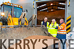 Timmy Connor, Charles Slattery, Sean Dallton, Michael Dunne at the road salting depots in Tralee after taking in a new batch of road salt, the depot holds a Capacity of 2500 to 3000 tonne of salt