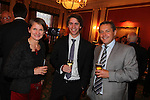 Wales in London Dinner.Laura McAllister, Andrew Johns & Steve Howell.Caledonian Club.19.06.12.©Steve Pope