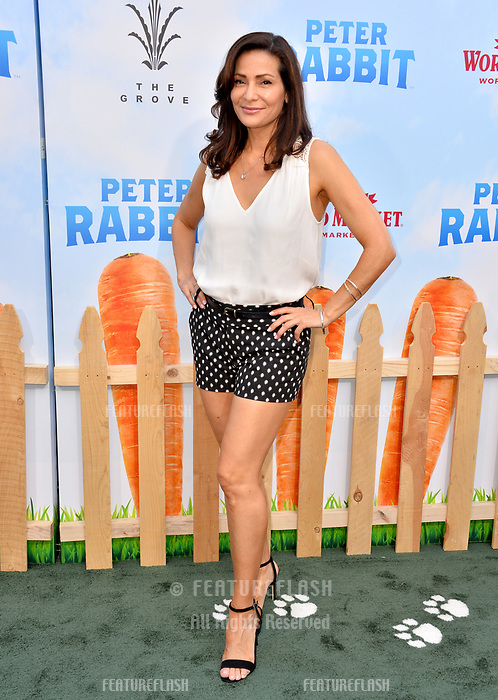 Constance Marie at the world premiere for &quot;Peter Rabbit&quot; at The Grove, Los Angeles, USA 03 Feb. 2018<br /> Picture: Paul Smith/Featureflash/SilverHub 0208 004 5359 sales@silverhubmedia.com