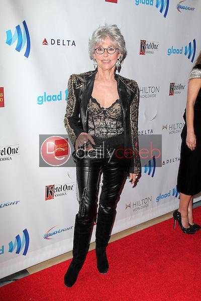 Rita Moreno<br /> at the 25th Annual GLAAD Media Awards, Beverly Hilton, Beverly Hills, CA 04-12-14<br /> David Edwards/DailyCeleb.Com 818-249-4998
