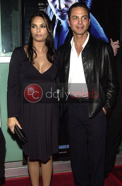 Benjamin Bratt and wife Talisa Soto