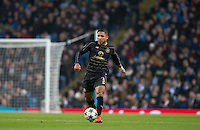 Emilio Izaguirre of Celtic during the UEFA Champions League GROUP match between Manchester City and Celtic at the Etihad Stadium, Manchester, England on 6 December 2016. Photo by Andy Rowland.