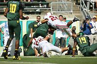 2 September 2006: Bo McNally (22) and Trevor Hooper (24) during Stanford's 48-10 loss to the Oregon Ducks at Autzen Stadium in Eugene, OR.