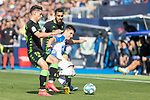 Leganes's Unai Bustinza and Real Betis's Alex Moreno during La Liga match. Februry 16, 2020. <br /> (ALTERPHOTOS/David Jar)
