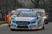 2019 British Touring Car Championship. Race 2. #16 Aiden Moffat. Laser Tools Racing. Mercedes Benz A-Class