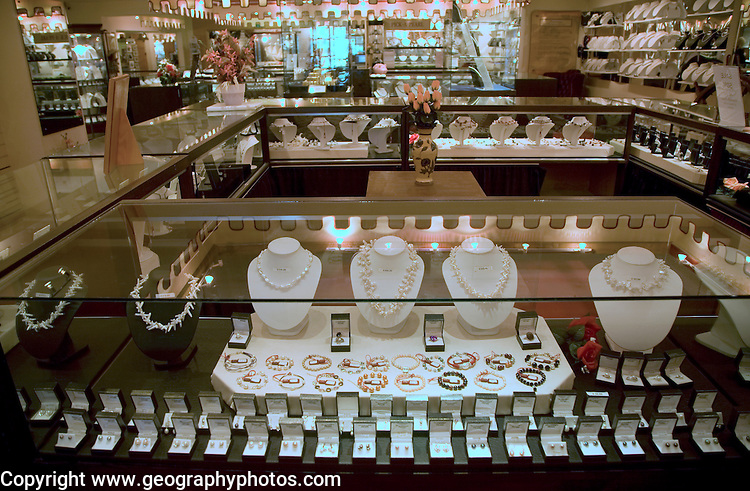 Guernsey Pearls shop and showroom, Guernsey, Channel Islands