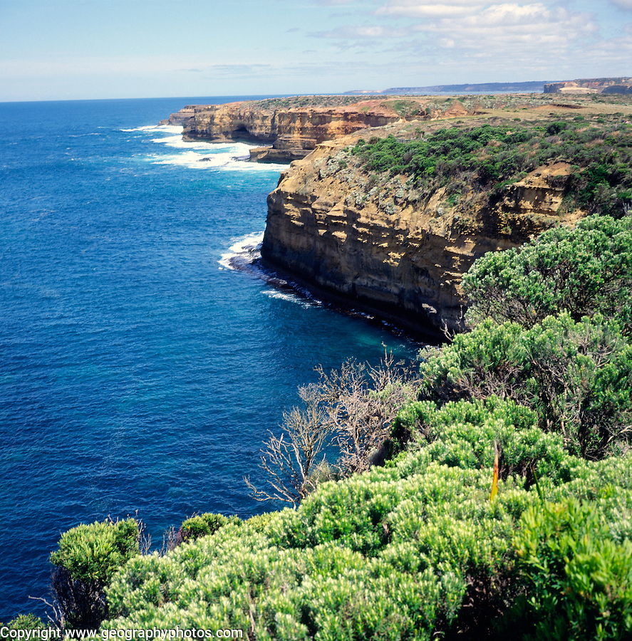 Coastal scenery, Port Campbell national park, Victoria, Australia