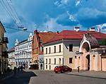 Litwa, Wilno, 08.07.2014. Wilno - ulica Ostrobramska.