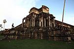 Dusk at Angkor Wat, Cambodia. June 9, 2013.