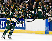 Peter Lenes (Vermont - 3) - The University of Vermont Catamounts defeated the Yale University Bulldogs 4-1 in their NCAA East Regional Semi-Final match on Friday, March 27, 2009, at the Bridgeport Arena at Harbor Yard in Bridgeport, Connecticut.