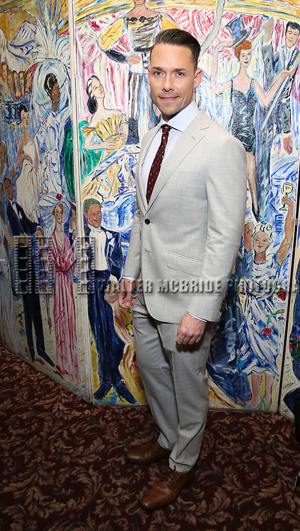 Aaron Rhyne attends the 67th Annual Outer Critics Circle Theatre Awards at Sardi's on May 25, 2017 in New York City.
