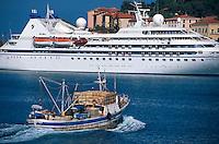 Italien, Elba, Portoferraio, Faehre