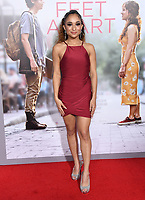 "07 March 2019 - Westwood, California - Trina LaFaruge. ""Five Feet Apart"" Los Angeles Premiere held at the Fox Bruin Theatre. Photo Credit: Birdie Thompson/AdMedia"
