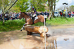 Badminton, Gloucestershire, United Kingdom, 4th May 2019, Emily Philp riding Camembert during the Cross Country Phase of the 2019 Mitsubishi Motors Badminton Horse Trials, Credit:Jonathan Clarke/JPC Images