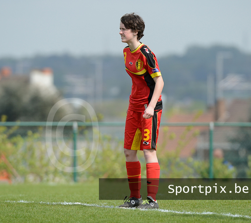 U 15 Belgian Red Flames - Virginia USA :<br /> <br /> Jana Smets<br /> <br /> foto Dirk Vuylsteke / Nikonpro.be