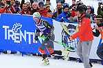 Ski exhibition Alpine Rock Fest 2013 in Trento<br /> <br /> Ted Ligety during the Alpine Rock Fest on 23/12/2013 in Andalo, Italy. Ted Ligety from USA wins and gets the 75 000 euros money prize. <br /> <br /> Photo &copy; Pierre Teyssot / www.pierreteyssot.com