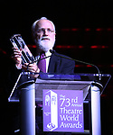 John Rubinstein on stage at the 73rd Annual Theatre World Awards at The Imperial Theatre on June 5, 2017 in New York City.