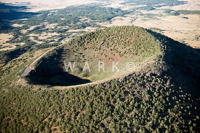 Capulin, New Mexico. Volcano. Oct 2013
